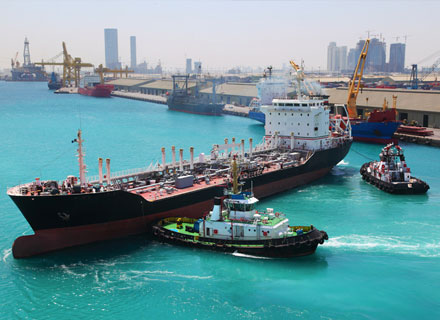 Abu Dhabi ports trade